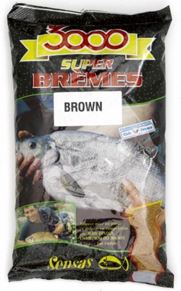 Sensas 3000 Super Bremes Latikas (pruun) 1kg