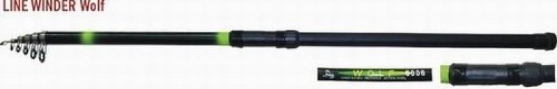 Wolf Short 4.5m 30-60g teleskoop 350g