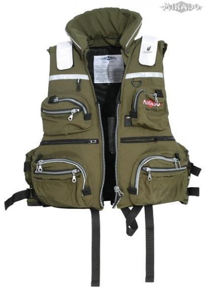Mikado ohutusvest 50N koos taskutega XL