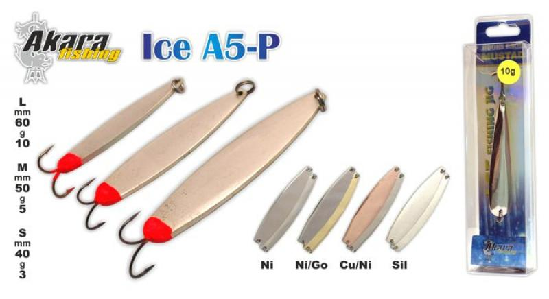 Talilant ICE A5 60mm 10g NI/GO