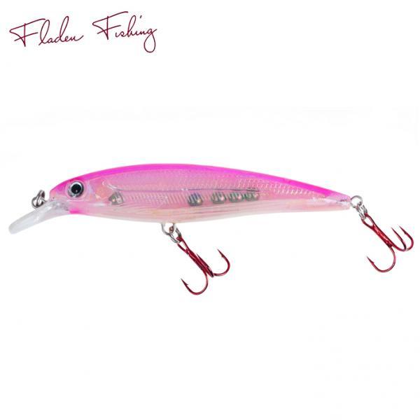 Warbird Minnow 11cm 12g silver/pink