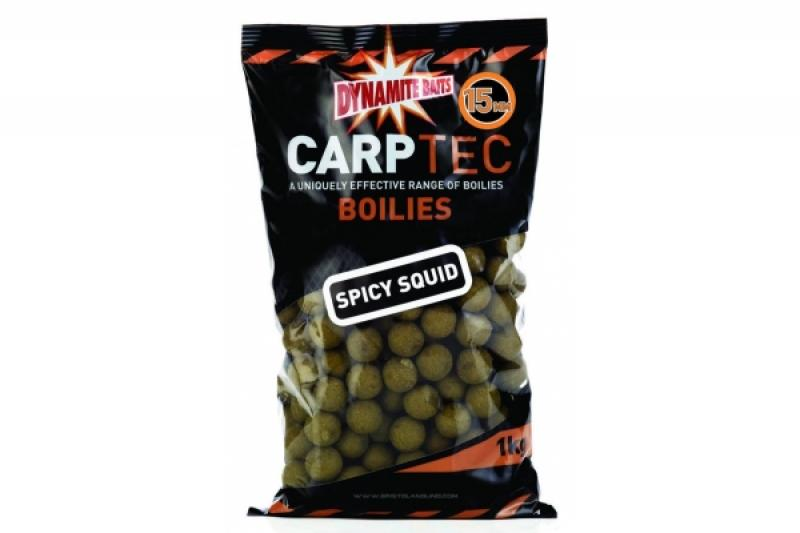 Boilid Carp-Tec Spicy Squid 15mm 1kg