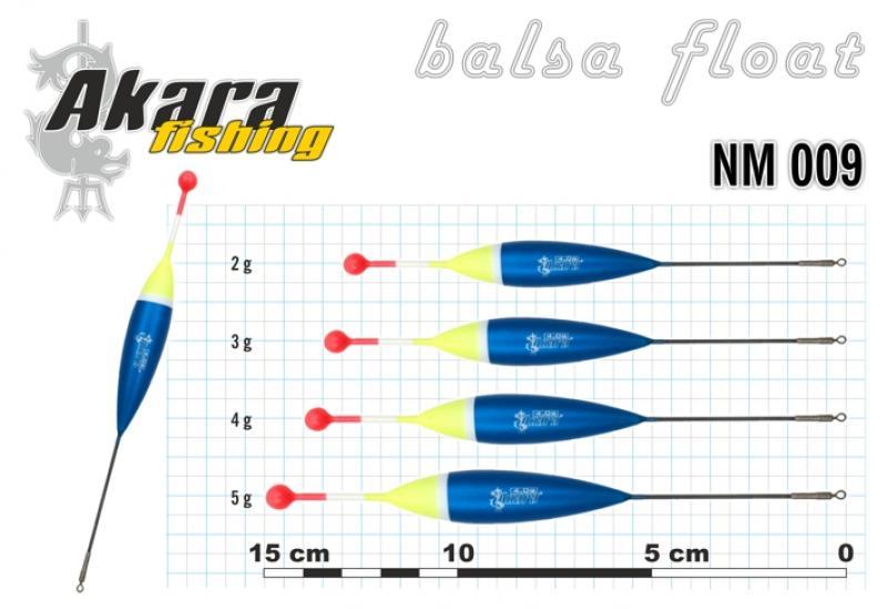 Ujuk Akara balsa NM 009 4g 14cm