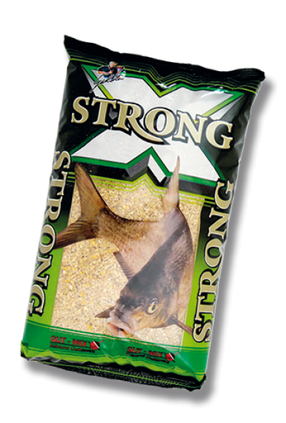 Gut-Mix Strong Green Tench & Crucian (linask, koger) 2.5kg