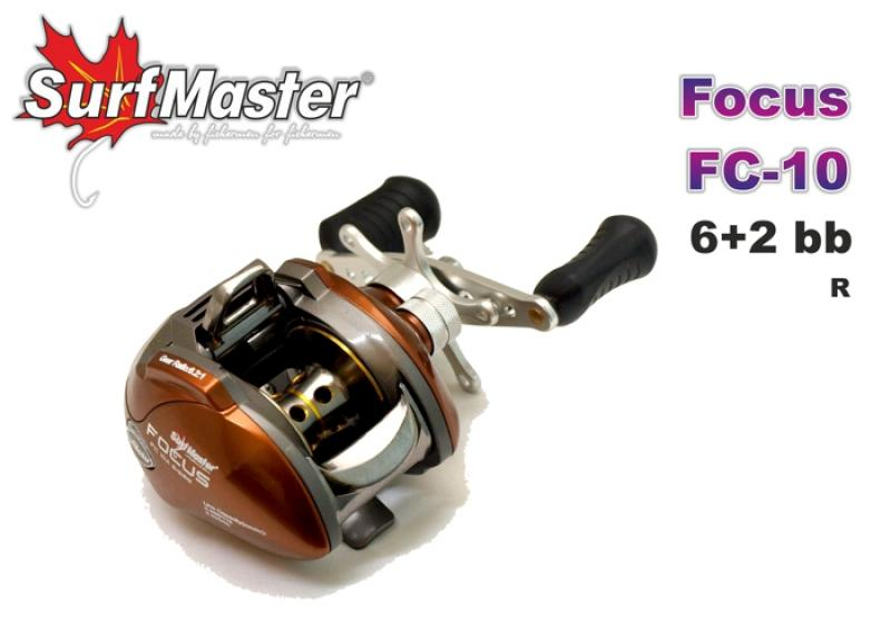 Surf Master Focus FC-10A (6+2bb 0.285mm/115m 6.2:1) RH