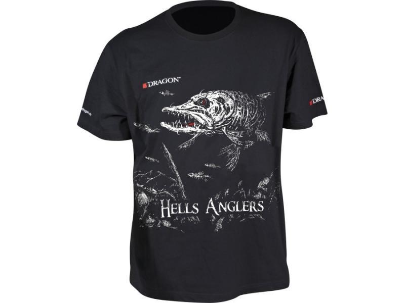 T-särk Dragon Hell Anglers haug XL