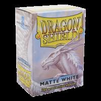 Dragon Shield Standard Sleeves - Matte White (100)