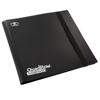 Ultimate Guard 12-Pocket QuadRow FlexXfolio Black