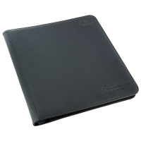 Ultimate Guard 12-Pocket QuadRow ZipFolio XenoSkin Black