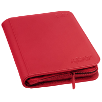 Ultimate Guard 4-Pocket ZipFolio XenoSkin Red