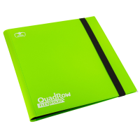 Ultimate Guard 12-Pocket QuadRow FlexXfolio Light Green