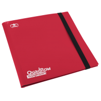 Ultimate Guard 12-Pocket QuadRow FlexXfolio Red