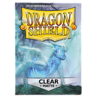 Dragon Shield Standard Sleeves - Matte Clear (100)