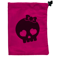 Dice Bag - Treasure Nest - Skull Girl