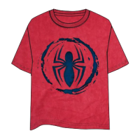Spiderman Logo Red T-Shirt - Size L
