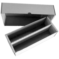 Cardbox / Fold-out Box with Lid for Storage of 2.000 Cards