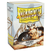 Dragon Shield Standard Sleeves - Matte Ivory (100)