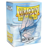 Dragon Shield Standard Sleeves - Matte Sky Blue (100)