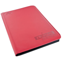 Ultimate Guard 9-Pocket ZipFolio XenoSkin Red