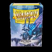 Dragon Shield Standard Sleeves - Matte Petrol (100 Sleeves)