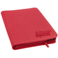 Ultimate Guard 8-Pocket ZipFolio XenoSkin Red