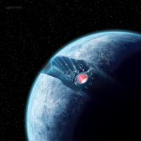 Star Wars: X-Wing - Starkiller Base Game Mat
