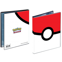 4-Pocket Portfolio - Pokemon - Pokéball