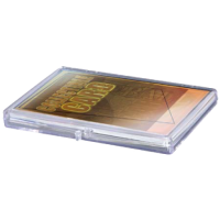 Hinged Clear Box - (For 15 Cards)