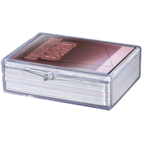 Hinged Clear Box - (For 50 Cards)