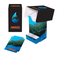 Full-View Deck Box with Tray - Magic: The Gathering - Mana 5 Island