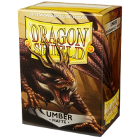 Dragon Shield Standard Sleeves - Matte Umber