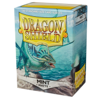 Dragon Shield Standard Sleeves - Matte Mint