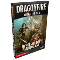D&D: Dragonfire Heroes of the Sword Coast - Character Pack 1