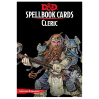 D&D Spellbook Cards - Cleric (149 Cards)