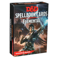 D&D Spellbook Cards - Elemental (45 Cards)