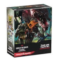 D&D Icons of the Realms - Tomb of Annihilation Tomb and Traps Case Incentive