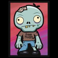 Legion - Standard Sleeves - Zombie Hugs (50 Sleeves)