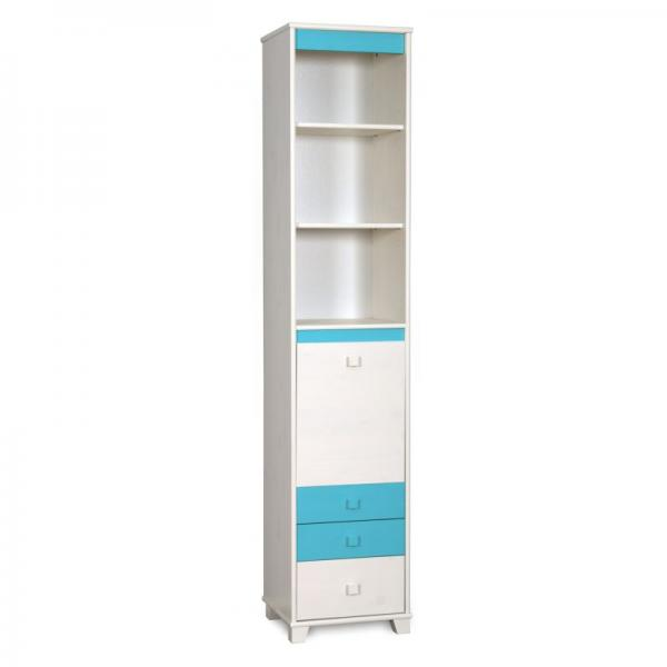 High cupboard with drawers and shelfs