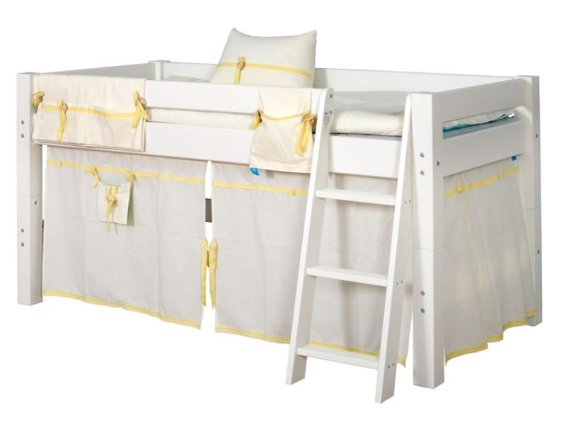 Шторы для кровати и карман