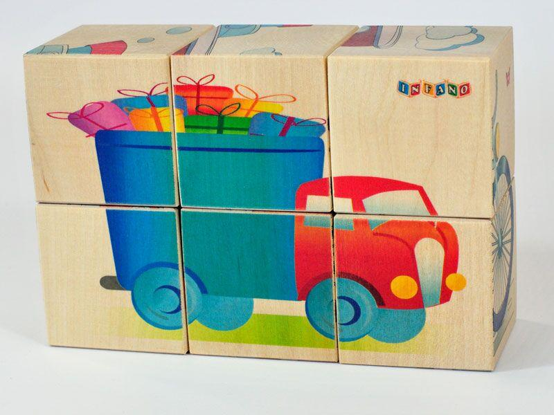 Wooden blocks Vehicles