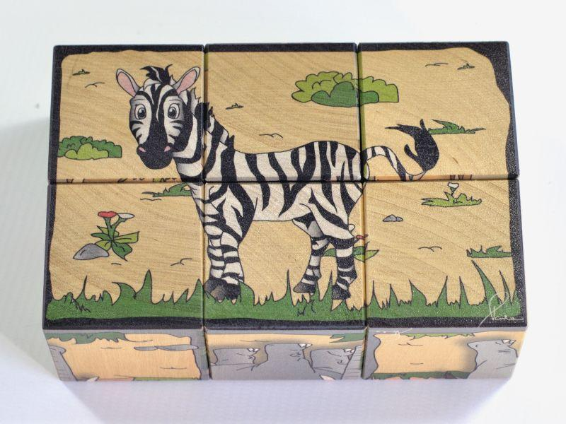 Wooden blocks Safari