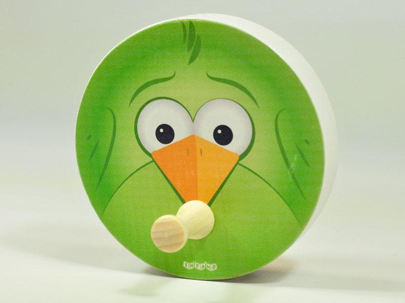 Вешалка Зеленая птица