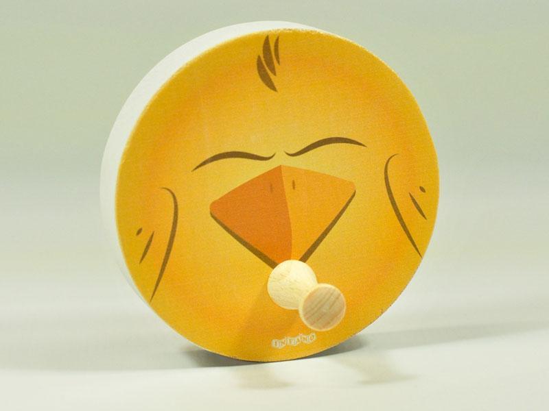 Aufhänger Gelber Vogel