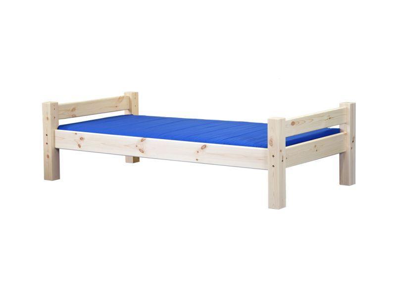 Кровать LAHE, натуральный лак