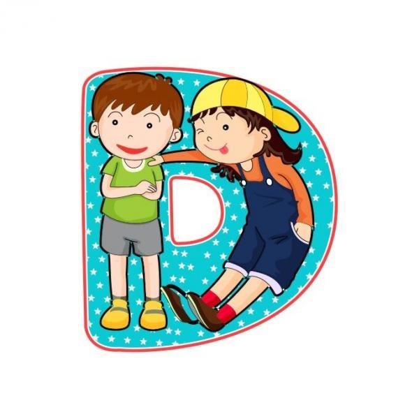 Holzbuchstaben KIDS
