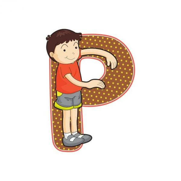 Деревянные буквы KIDS
