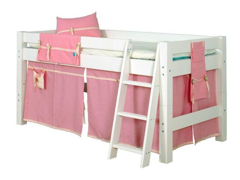 Semi High Children´s Bed LAHE, vanilla