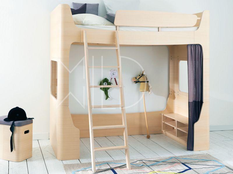 Высокая кровать MILD&WILD
