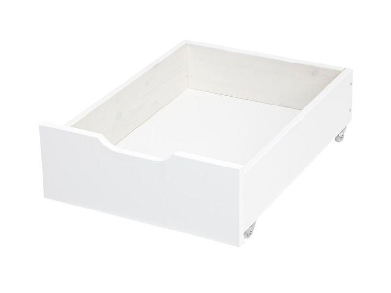Drawer on wheels white