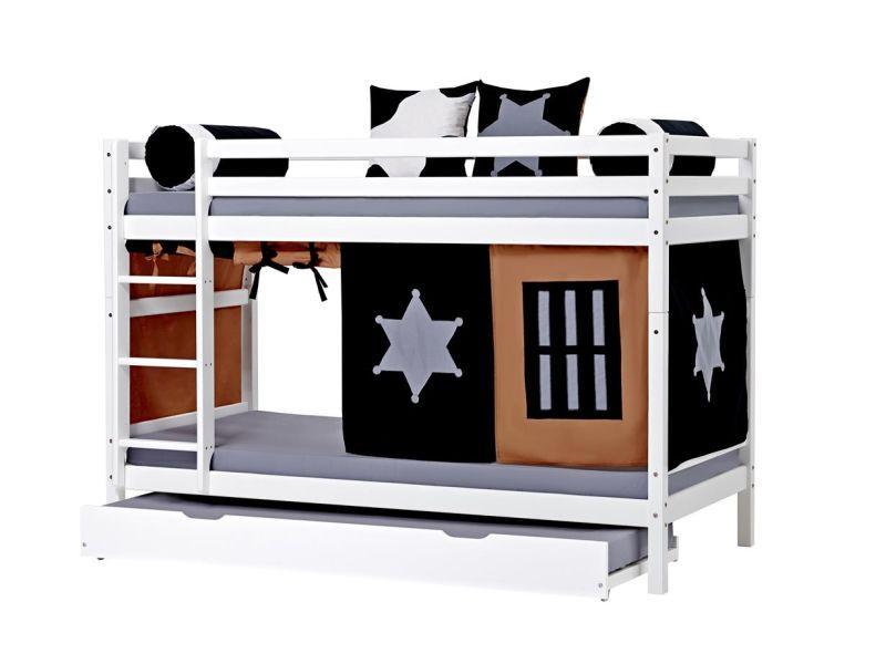 Модуль двухъярусной кровати BASIC 90x200